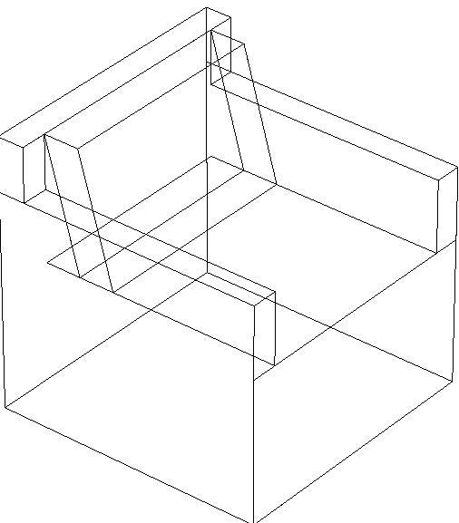 Divani angolo dwg idee per il design della casa for Layout della camera familiare
