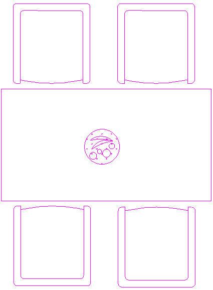 Blocchi cad in formato dwg tavoli in pianta for Arredamento cad