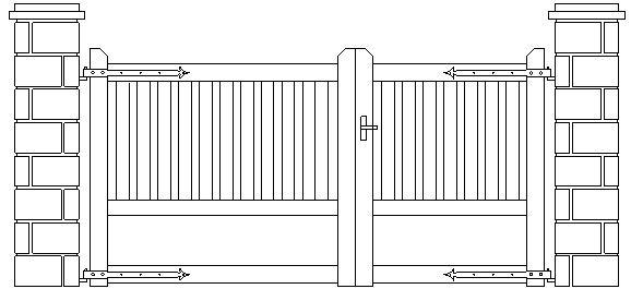 Cancello Pianta Dwg Terminali Antivento Per Stufe A Pellet