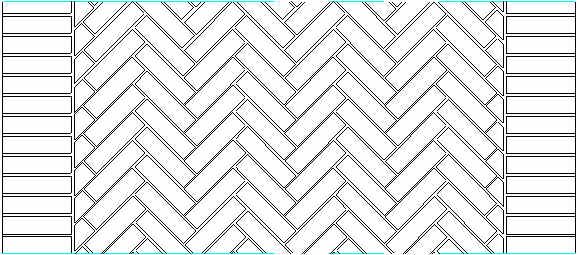 Pavimentazioni in mattoni per esterni schemi di montaggio for Arredi esterni dwg